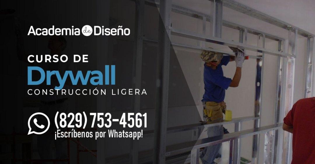 Curso de Drywall en Santo Domingo