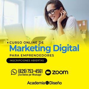 Curso de Marketing Digital en Santo Domingo