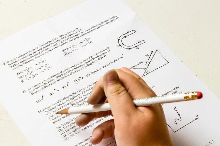 Como hacer un examen tipo test