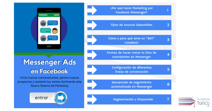 Curso Messenger Ads