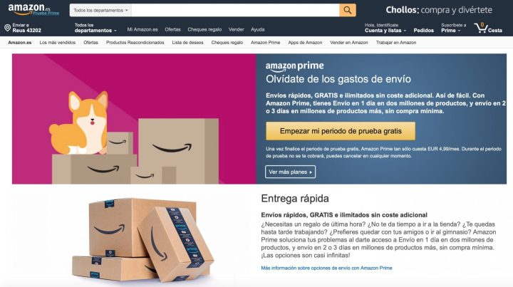 Estrategia Marketing Amazon Prime