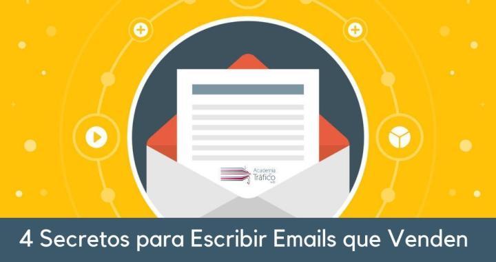 E Marketing - 4 secretos para escribir Emails que venden