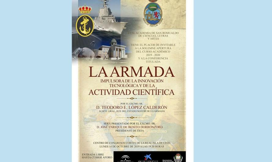 La Academia de San Romualdo abre el curso 2019-2020 el próximo lunes 14 de octubre con la Armada como protagonista