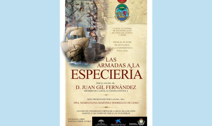'Las Armadas a la especiería', conferencia con motivo del V centenario de la circunvalación a la tierra