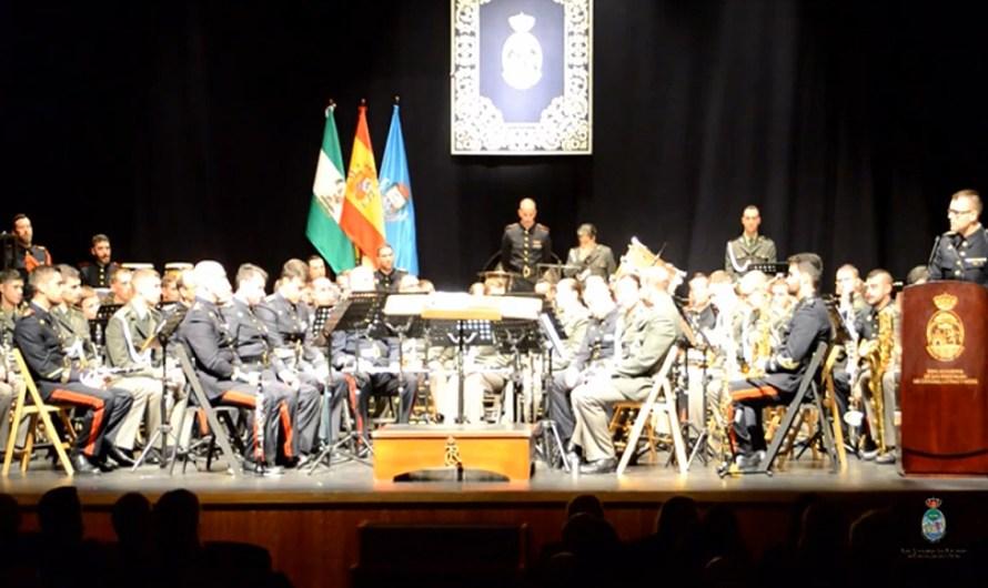 Concierto ofrecido por la Banda del Tercio Sur de Infantería de Marina con motivo de Santa Cecilia