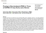 Proning in Non-Intubated (PINI) in Times of COVID-19: Case Series and a Review.