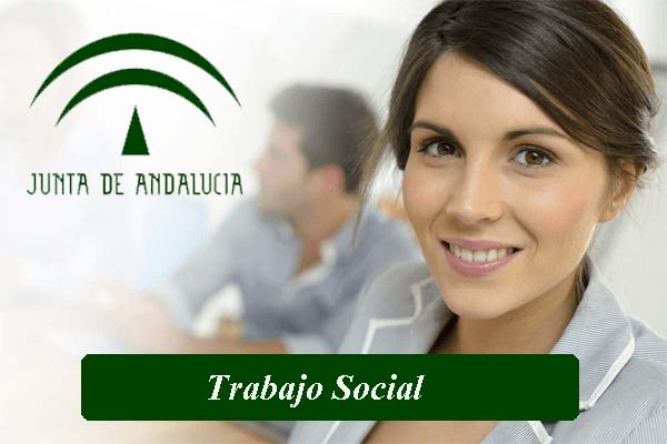 Listado provisional admitidos Trabajo Social . Junta de Andalucía