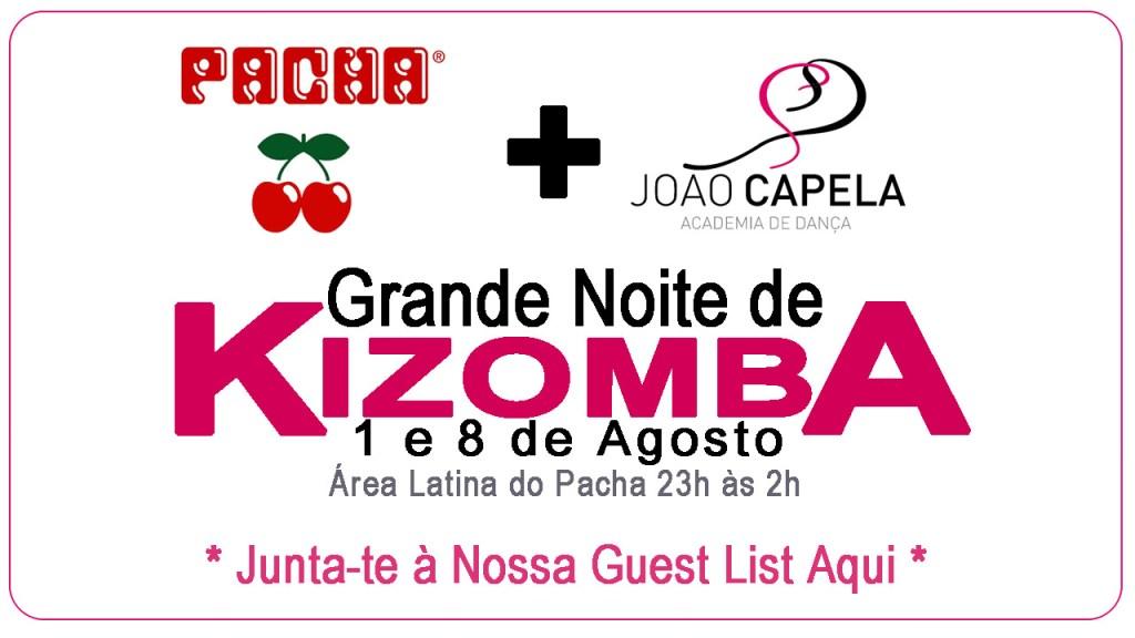 Pacha 1 e 8 de Agoso com Academia João Capela e muita Kizomba