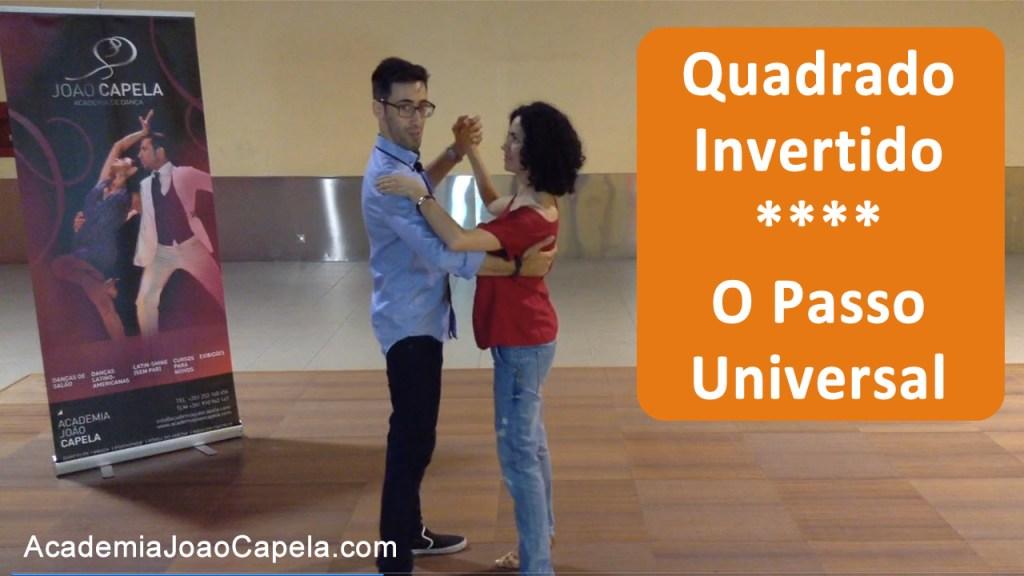 Quadrado Invertido - passo de dança universal