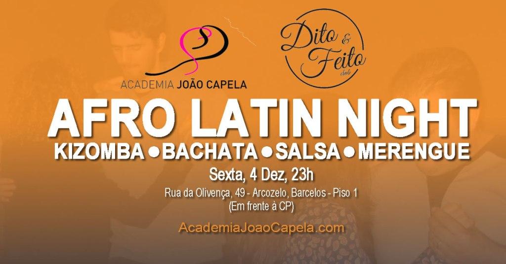 Noite Afro-Latina - Academia João Capela no Dito e Feito