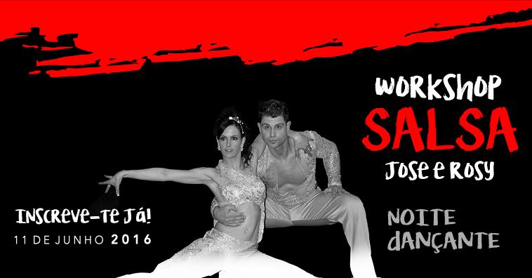 Workshop de Salsa com Jose e Rosy em Barcelos 11 Junho 2016