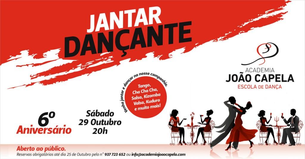 Jantar Dançante Barcelos 6 Aniversario da Academia João Capela