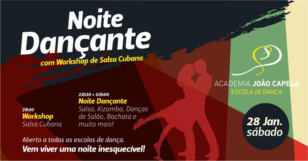Noite Dançante 28 Jan Barcelos