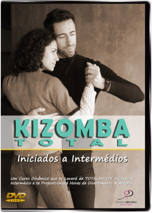 Curso Kizomba Total - DVD Front Cover PAL