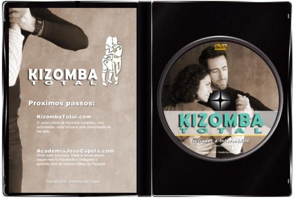 Curso Kizomba Total - DVD Inside Case PAL