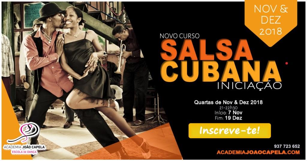 Curso Salsa Cubana Nov 2018