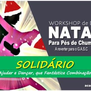 Workshop de Dança de Natal Solidário 2018 Bachata Kuduro e Cha Cha Cha academia joão capela escola de dança barcelos