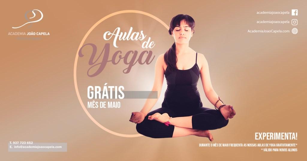 Aulas de Yoga Gratis em Maio - Barcelos