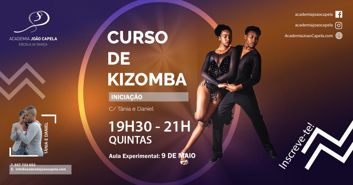 Novo Curso de Kizomba e Ritmos Africanos Academia João