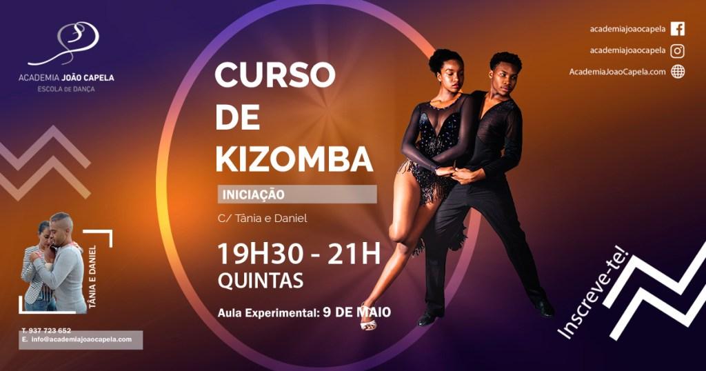 Nova Turma Kizomba Academia João Capela Barcelos - Maio 2019