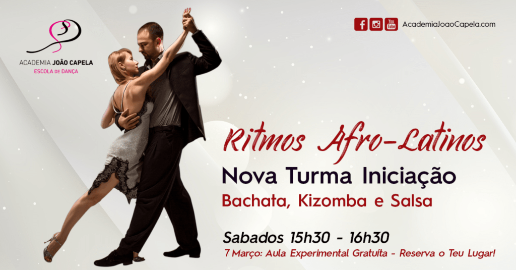 Nova Turma Ritmos Afro Latinos Iniciação Fev 2020