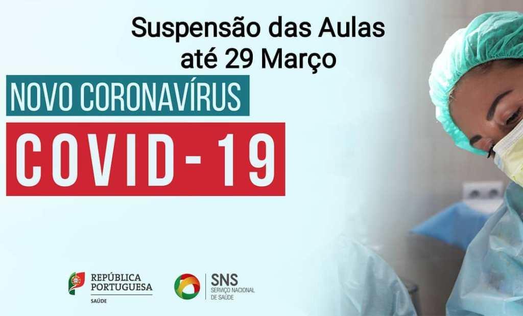Academia João Capela - Suspensão das Aulas - Covid 19