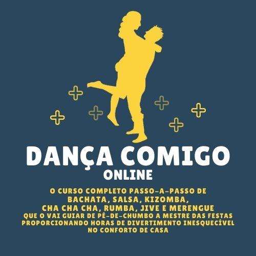 Logotipo Dança Comigo Online - Aulas de Dança Online