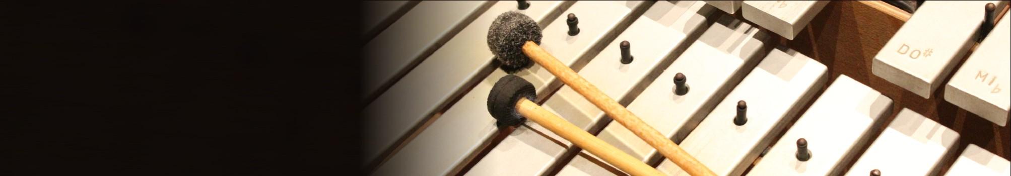 detalhe de xilofone