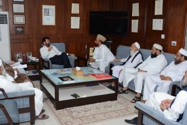 Mufti Muneeb And Chairman HEC