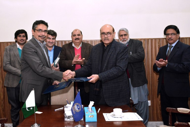 MoU Between UAF And Engro Fertilizers