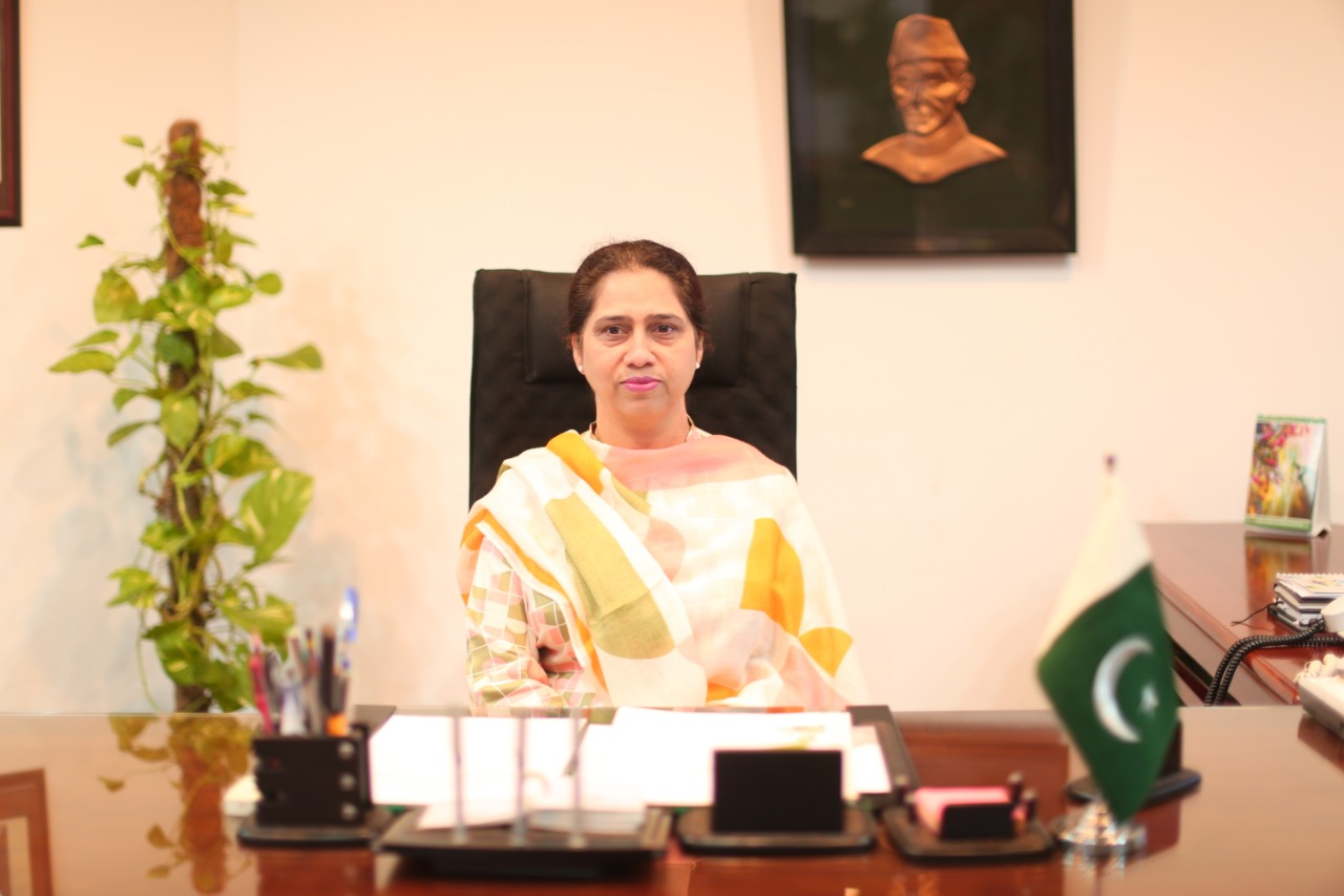 Dr Bushra Mirza: Leading LCWU's Forward Charge