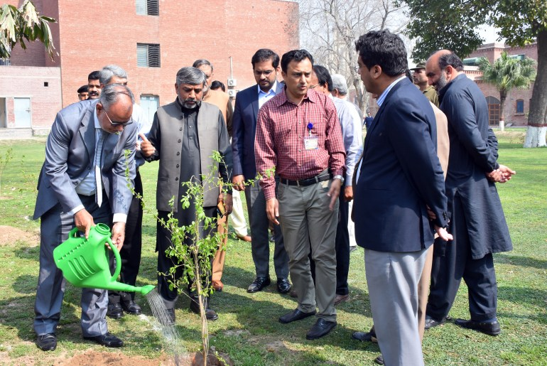 Seminar On Clean And Green Pakistan At UAF