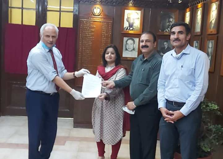 GCU Conducts Its First Online PhD Viva