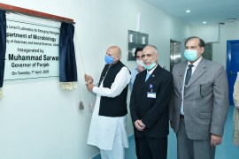 Governor Inaugurates New BSL-3 Lab For Emerging Pathogens At UVAS