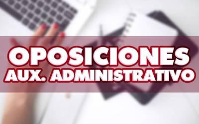 Oferta de empleo público de Auxiliar Administrativo del Estado para el año 2019. Presentación de instancias.