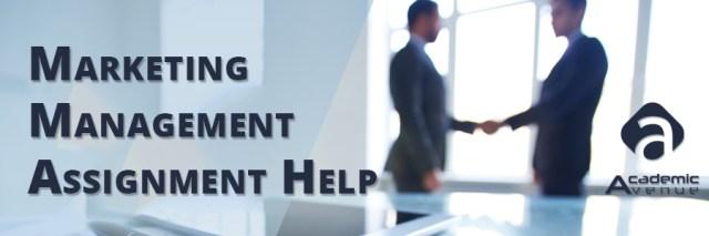 Marketing Management Assignment Help US UK Canada Australia New Zealand