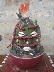 image of eshu with beads