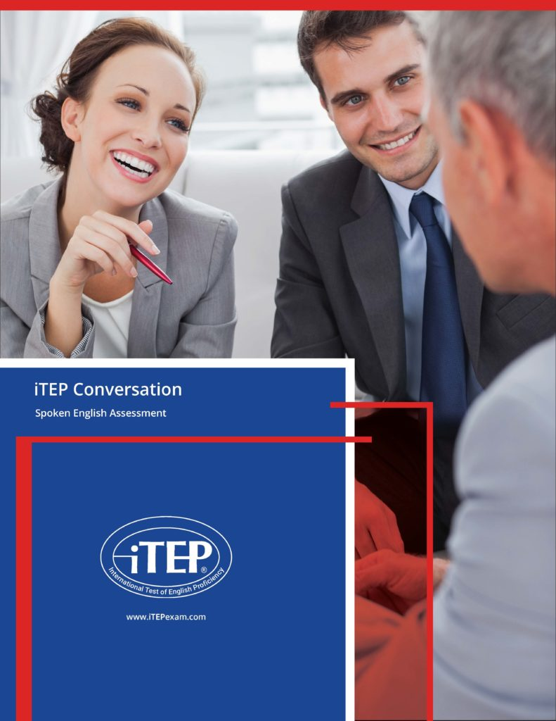 iTEP Conversation test brochure cover