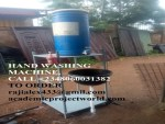 CONSTRUCTION OF FOOT PRESS COVID-19 HAND WASHING MACHINE