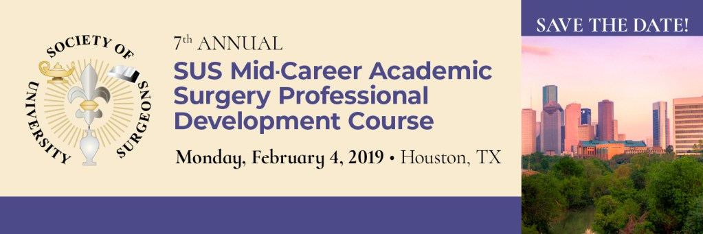 SUS Mid-Career Course