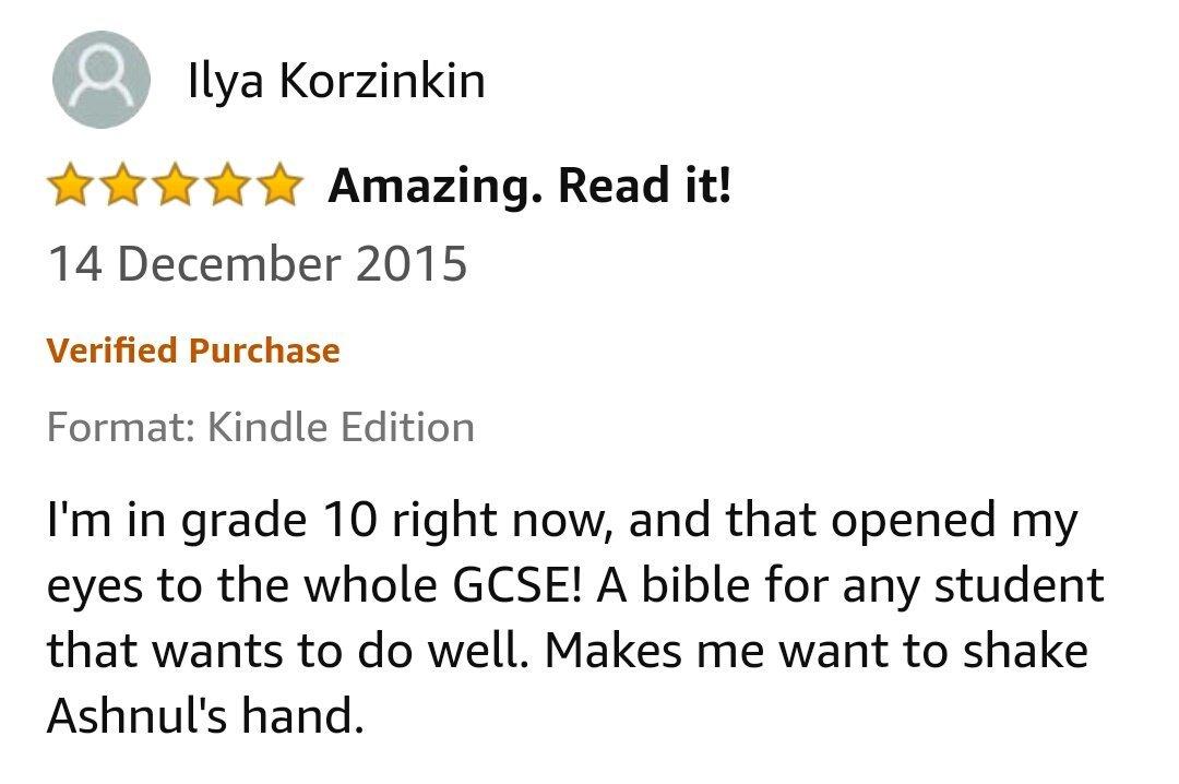 GCSE Reviews 23