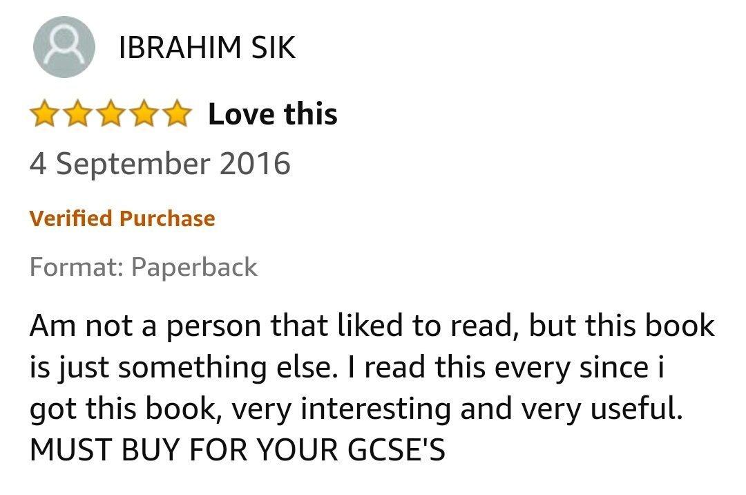 GCSE Reviews 32