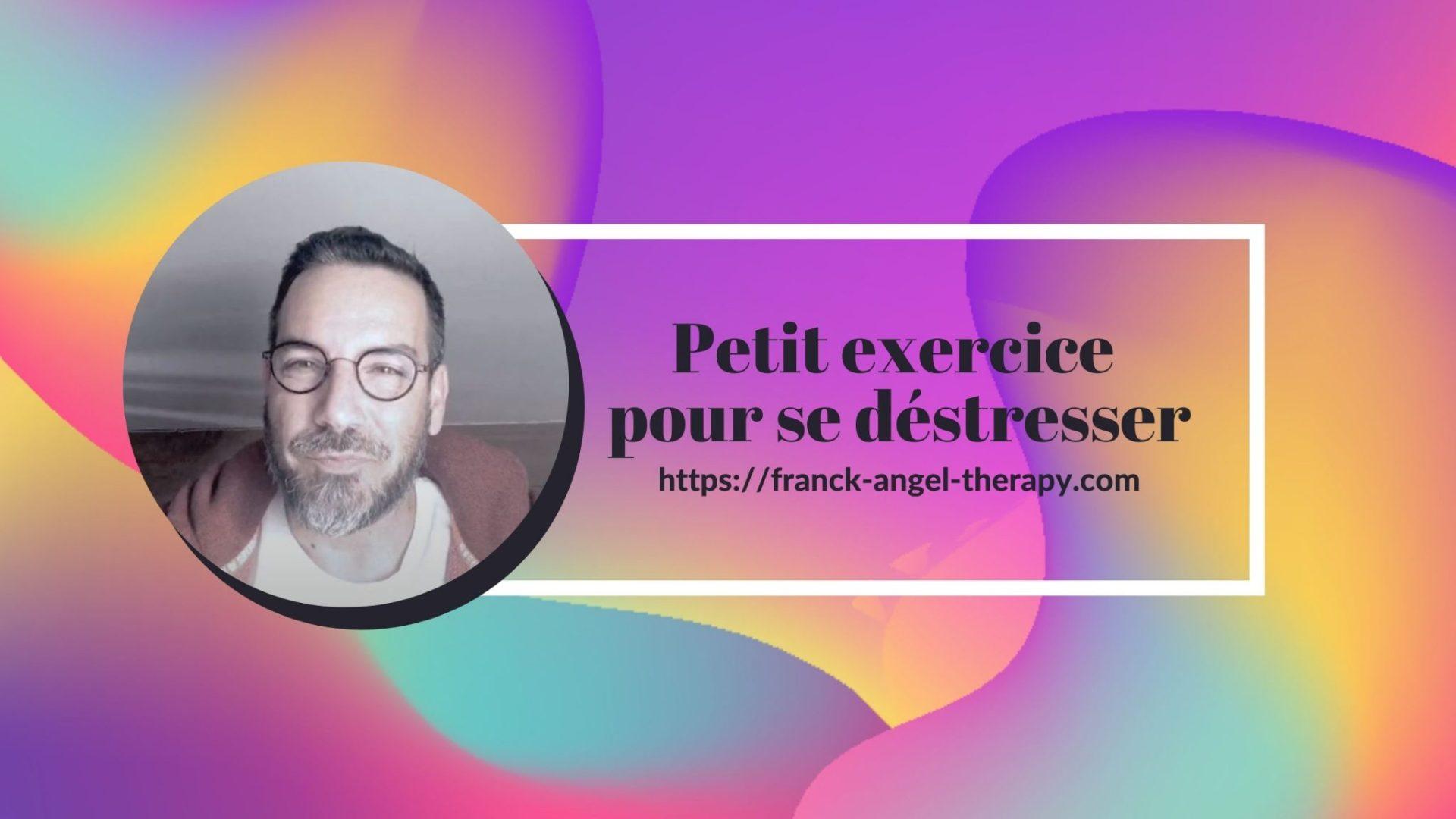 Petit exercice pour déstresser