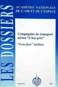 """Dossier n° 26 - Compagnies de transport aérien """"à bas prix"""""""