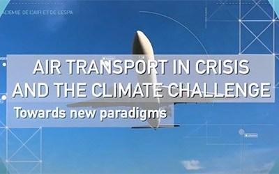 """Temps forts du webinaire """"Transport aérien en crise et défi climatique"""""""