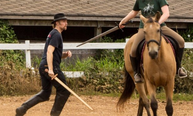 Mounted Combat Fundamentals: What you need to know about swords before you introduce them to your horse.