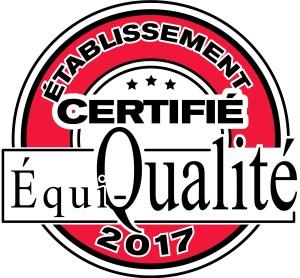 Logo Certifié Équi-Qualité 2017