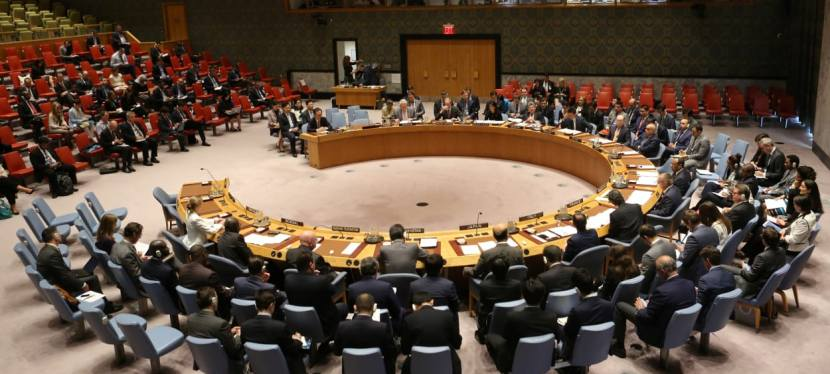 Le Conseil de sécurité des Nations Unies