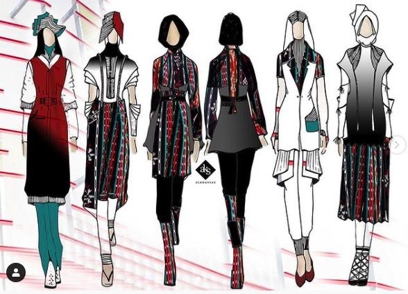 Sekolah Fashion Design - Les Fashion Design Online