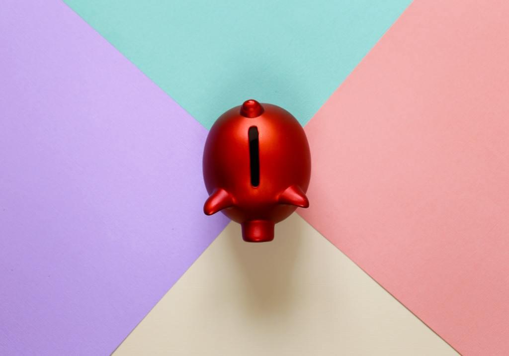 Red Piggy Bank